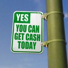Cash today