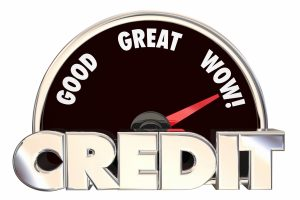 Credit increases from bad to very good.