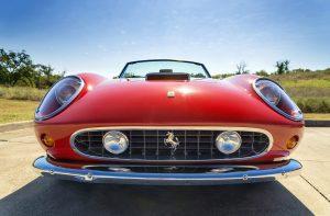 Fancy red car in AZ